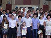 Сегодня в Тимашевске чествовали талантливых школьников
