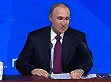 Путин ответил на вопрос о его планах на семейную жизнь
