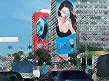 Краснодар разделят на рекламные зоны