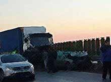 В Тимашевске столкнулись 11 автомобилей