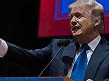 Американский миллиардер Дональд Трамп хочет помирить США и Россию