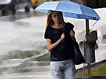 На Кубани до конца рабочей недели прогнозируют дожди и грозы