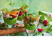 Вкусные весенние идеи с зеленым горошком