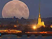 31 января россияне увидят суперлуние и лунное затмение