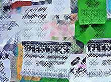 Незаконно расклеенная реклама портит внешний вид города Тимашевска