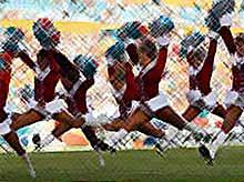 Спортивные снегурочки (фото)