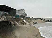 Ученые обеспокоены:Азовское море поглощает сушу. (Видео)