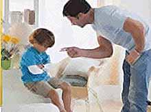 Строгое воспитание детей приносит только вред, а не пользу.
