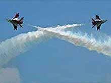 На Кубани завершается  международный авиационный фестиваль. (видео)