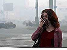 92% людей на Земле  дышат загрязненным воздухом