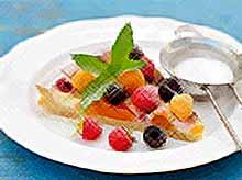 Летний пирог с ягодами
