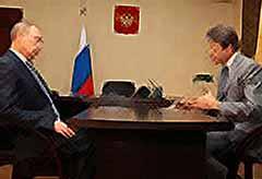 Путин выслушал Ткачева о ситуации с африканской чумой в Тимашевске