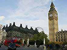 Лондонский Биг-Бен падает (видео)