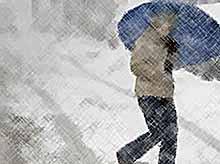На Кубани в ближайшие сутки синоптики прогнозируют снег и гололед