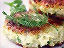 Котлеты из цветной капусты.