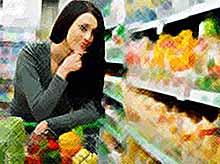 В России снижаются  цены на продукты