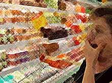 В России продукты питания  подорожали почти на 8% с начала года
