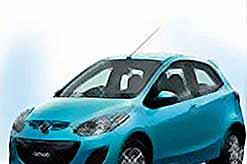 Mazda 2 - имеет рекордно низкий расход топлива