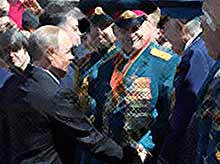 На Параде Победы  ветерана не хотели пускать к Путину