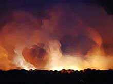 ЧП в Удмуртии- взрывы на складе снарядов. Десятки пострадавших. (видео)