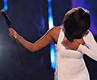 Уитни Хьюстон последний раз затмит всех лауреатов Grammy (видео)
