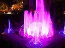 В Краснодаре цветомузыкальный фонтан будет болеть за футбол (видео)