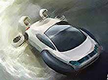 Футуристический Volkswagen Aqua показали китайцы (видео)