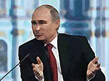 Владимир Путин проведет сегодня  большую пресс-конференцию  (видео)