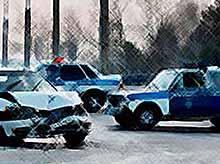 В Краснодарском крае пьяный водитель протаранил полицейскую машину