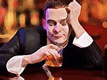 Россияне стали меньше пить из-за кризиса
