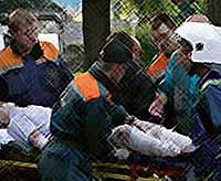 Страшный  теракт в Махачкале у полицейского поста: 15 погибших, более 100 ранено(видео)
