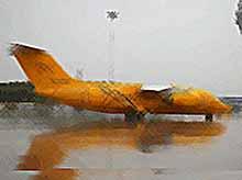 Под Москвой разбился пассажирский самолет
