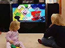 Телевизионные передачи ухудшают физическое состояние ребенка