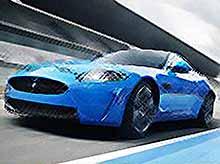 Новый  Jaguar XKR-S без комментариев (видео)