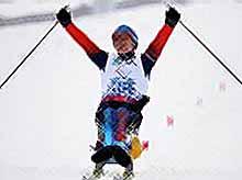 20-ю золотую медаль на Паралимпиаде в Сочи принесла биатлонистка Коновалова.