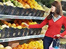 В России подешевели фрукты и овощи