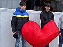 В Тимашевске по случаю Всемирного дня борьбы со СПИДом прошла социальная  акция