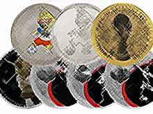 В банках Кубани можно будет обменять мелочь на выпущенные в честь чемпионата мира по футболу монеты