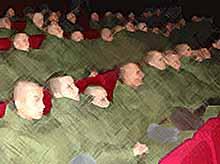 День призывника в кинотеатре «Заря»в Тимашевске