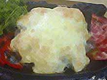 Свинина  с грибами под сырной шапочкой