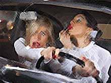 На Кубани две пьяные женщины угнали иномарку