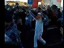 В Соцсетях появилось видео эстафеты олимпийского огня в Краснодаре  (видео)