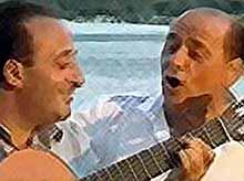 Берлускони написал песни о любви (видео)