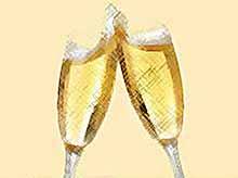 Как правильно выбрать шампанское и подать его на стол