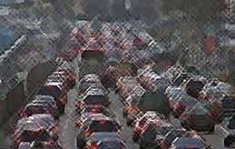 Плотность транспорта в Краснодаре выше, чем в Москве и Санкт-Петербурге