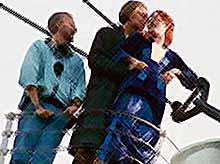 """Как снимали """"Титаник"""": редкие фото со съёмок"""