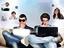 Общение в социальной сети не делает  людей  счастливее