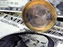 Сегодня доллар упал почти на рубль