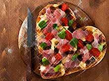 Вкусные рецепты пиццы в виде сердца
