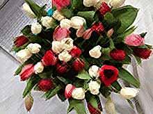 Продажи цветов к 8 Марта вырастают накануне праздника в  пять - десять раз